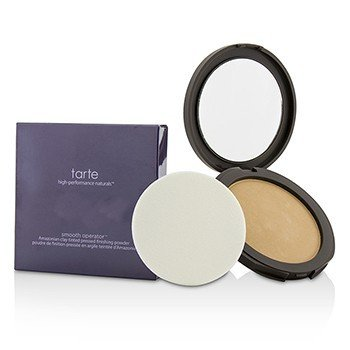 Tarte Smooth Operator Amazonian Clay Tinted Pressed Finishing Powder - Tan  11g/0.39oz