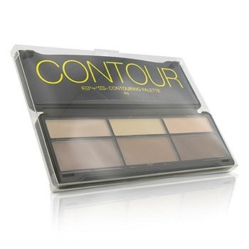 BYS Contour Palette (3x Contouring Powder, 3x Highlighting Powder)  20g/0.7oz