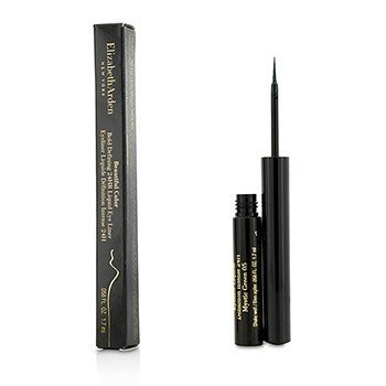 Elizabeth Arden Beautiful Color Bold Defining 24HR Liquid Eye Liner - 05 Mystic Green  1.7ml/0.58oz