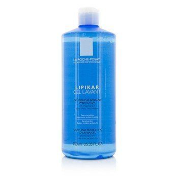 La Roche Posay Lipikar Gel Lavant Soothing Protecting Shower Gel  750ml/25.35oz