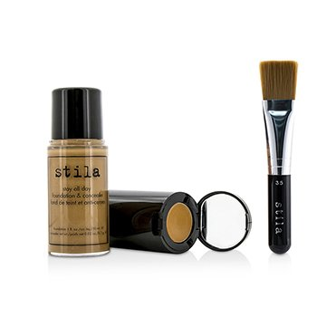 Stay All Day Foundation, Concealer & Brush Kit  -