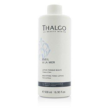 Thalgo Eveil A La Mer Beautifying Tonic Lotion (Face & Eyes) - For All Skin Types, Even Sensitive Skin (Salon Size)  500ml/16.9oz