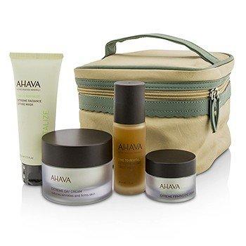 Ahava Firming Beauty Case: Lifting Mask 75ml + Day Cream 50ml + Night Treatment 30ml + Eye Cream 15ml+1bag  4pcs+1bag