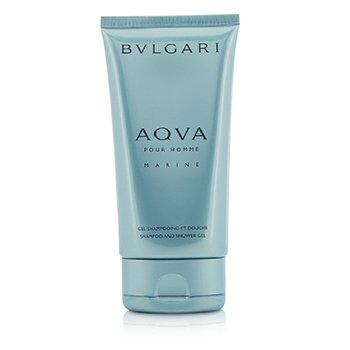 Bvlgari Aqva Pour Homme Marine Shampoo & Shower Gel (Unboxed)  150ml/5oz