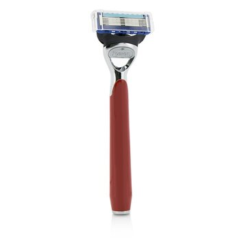 The Art Of Shaving Morris Park Collection Razor - Signal Red  1pc