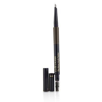 Estee Lauder The Brow MultiTasker 3 in 1 (Brow Pencil, Powder and Brush) - # 04 Dark Brunette  0.45g/0.018oz