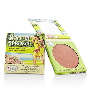 TheBalm Balm Springs Long Wearing Blush  5.61g/0.197oz