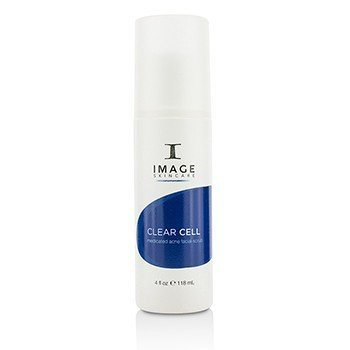 Image Clear Cell Medicated Acne Facial Scrub  118ml/4oz