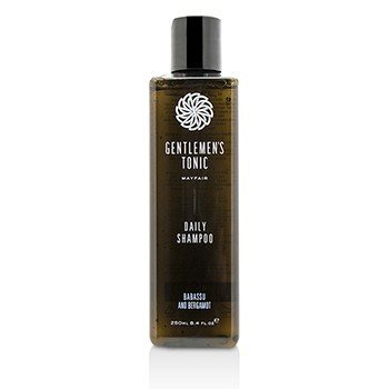 Gentlemen's Tonic Babassu and Bergamot Daily Shampoo  250ml/8.4oz