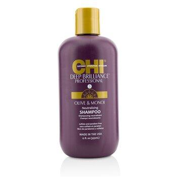 CHI Deep Brilliance Olive & Monoi Neutralizing Shampoo  355ml/12oz