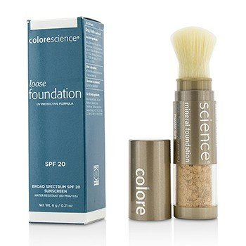 Colorescience Loose Mineral Foundation Brush SPF20 - Medium Sand  6g/0.21oz