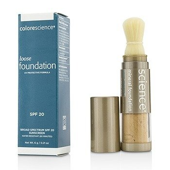 Colorescience Loose Mineral Foundation Brush SPF20 - Tan Natural  6g/0.21oz