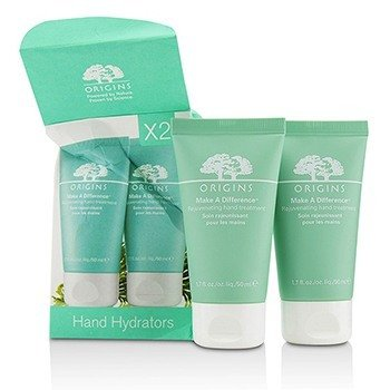 Origins Make A Difference Rejuvenating Hand Treatment Duo  (Box Slightly Damaged)  2pcs