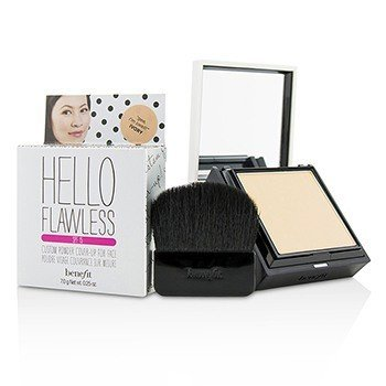 Benefit Hello Flawless! Custom Powder Cover Up For Face SPF15 - # Gee I'm Swell (Ivory)  7g/0.25oz