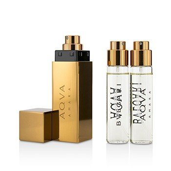 Aqva Amara The Refillable Eau De Toilette Travel Spray  3x15ml/0.5oz