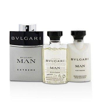Man Extreme Coffret: Eau De Toilette Spray 60ml/2oz + After Shave Balm 40ml/1.35oz + Shower Gel 40ml/1.35oz  3pcs