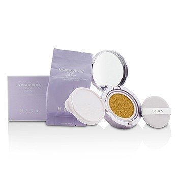 Hera UV Mist Cushion Cover SPF50 With Extra Refill - # C23 Beige Cover  2x15g/0.5oz