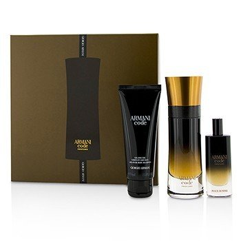 Giorgio Armani Armani Code Profumo Coffret: Eau De Parfum Spray 60ml/2oz + Eau De Parfum Spray 15ml/0.5oz + All Over Body Shampoo 75ml/2.5oz  3pcs