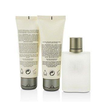 Acqua Di Gio Coffret: Eau De Toilette Spray 50ml/1.7oz + All Over Body Shampoo 75ml/2.5oz + After Shave Balm 75ml/2.5oz  3pcs