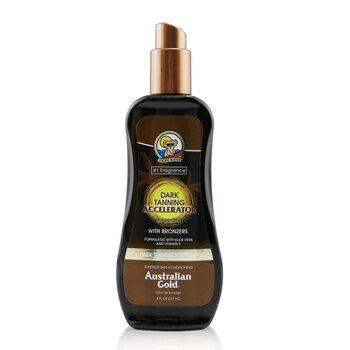 Australian Gold Dark Tanning Accelerator Spray Gel With Instant Bronzer  237ml/8oz