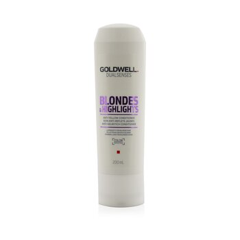 Goldwell Dual Senses Blondes & Highlights Anti-Yellow Conditioner (Luminosity For Blonde Hair)  200ml/6.8oz