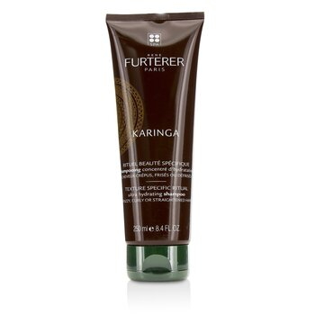Rene Furterer Karinga Ultra Hydrating Shampoo (Frizzy, Curly or Straightened Hair)  250ml/8.4oz