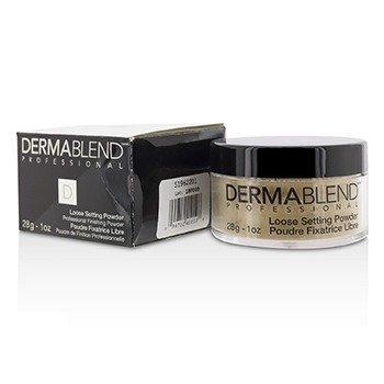 Dermablend Loose Setting Powder (Smudge Resistant, Long Wearability) - Cool Beige (Box Slightly Damaged)  28g/1oz