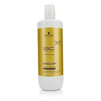 Schwarzkopf BC Excellium Q10+ Omega 3 Taming Shampoo (For Coarse Mature Hair)  1000ml/33.8oz