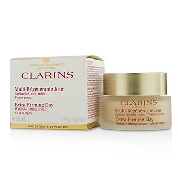 Clarins Extra-Firming Day Wrinkle Lifting Cream - All Skin Types (Box Slightly Damaged)  50ml/1.7oz