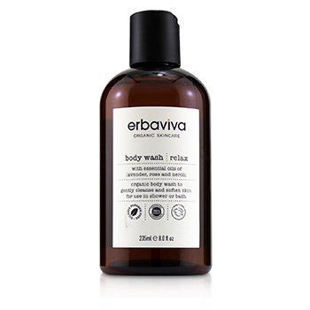 Erbaviva Relax Body Wash  235ml/8oz
