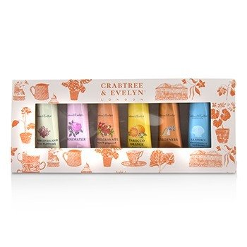Crabtree & Evelyn Bestsellers Hand Therapy Six-Piece Set  6x25g/0.9oz