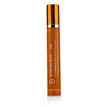 Dr Dennis Gross C + Collagen Brighten & Firm Eye Cream (Unboxed)  15ml/0.5oz