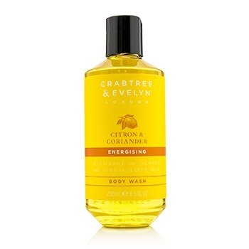 Crabtree & Evelyn Citron & Coriander Energising Body Wash  250ml/8.5oz