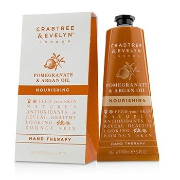 Crabtree & Evelyn Pomegranate & Argan Oil Nourishing Hand Therapy  100ml/3.45oz
