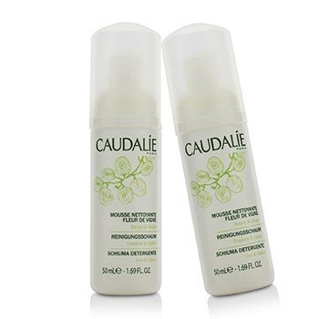 Caudalie Instant Foaming Cleanser Duo Pack (Travel Size)  2x50ml/1.69oz