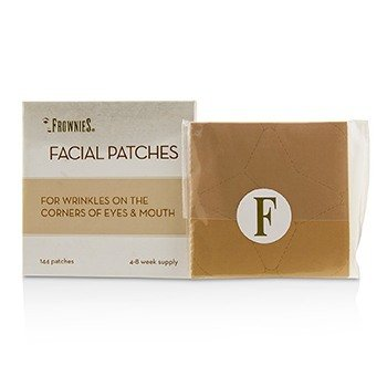 Frownies Facial Patches (For Corners of Eyes & Mouth) (Box Slightly Damaged)  144 Patches