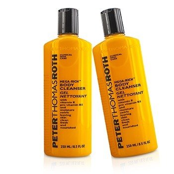 Peter Thomas Roth Mega-Rich Body Cleanser Duo Pack  2x250ml/8.5oz
