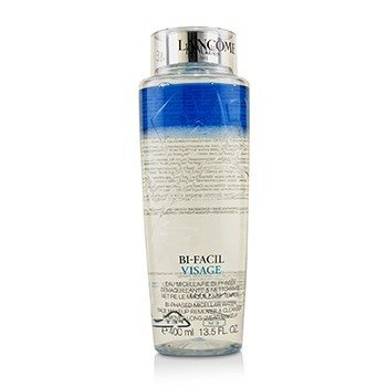 Lancome Bi Facil Visage Bi-Phased Micellar Water Face Makeup Remover & Cleanser  400ml/13.5oz