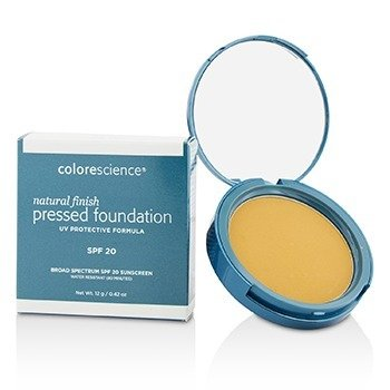 Colorescience Natural Finish Pressed Foundation Broad Spectrum SPF 20 - # Medium Sand (Exp. Date 07/2018)  12g/0.42oz