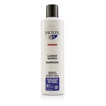 Derma Purifying System 6 Cleanser Shampoo (Chemically Treated Hair, Progressed Thinning, Color Safe)  300ml/10.1oz