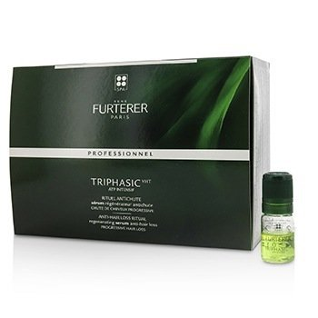 Rene Furterer Triphasic VHT ATP Intensif Regenerating Serum (Anti-Hair Loss, Progressive Hair Loss)  16x5.5ml/0.18oz