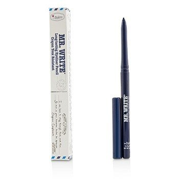 TheBalm Mr. Write Long Lasting Eyeliner Pencil - # Compliments (Blue)  0.35g/0.012oz