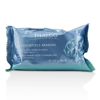 Thalgo Les Essentiels Marins Micronised Marine Algae Cleansing Bar  100g/3.53oz