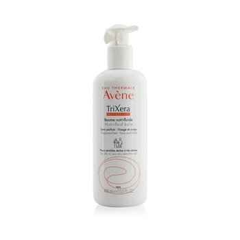 Avene TriXera Nutrition Nutri-Fluid Face & Body Balm - For Dry to Very Dry Sensitive Skin  400ml/13.5oz