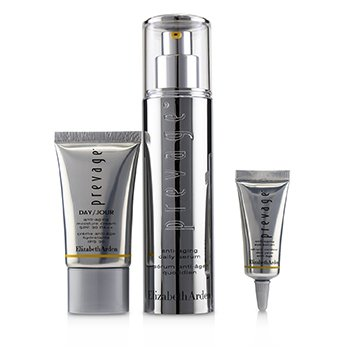 Anti-Aging Glow Set : Daily Serum 50ml + Moisture Cream SPF30 15ml + Eye Serum 5ml 3pcs