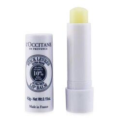 L'Occitane Shea Butter Lip Balm Stick  4.5g/0.15oz