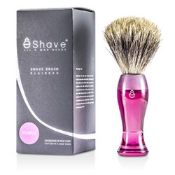 EShave Shave Brush Fine - Purple  1pc