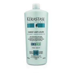Kerastase Resistance Ciment Anti-Usure Strengthening Anti-Breakage Cream - Rinse Out (For Damaged Lengths & Ends)  1000ml/34oz