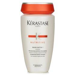 Kerastase Nutritive Bain Satin 1 Exceptional Nutrition Shampoo (For Normal to Slightly Dry Hair)  250ml/8.5oz