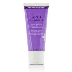 DERMAdoctor Ain't Misbehavin' Intensive Skin Clarifying Sulfur Acne Mask  70ml/2.3oz